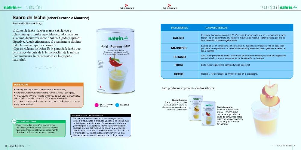 Depurativos y Complementos nutricionales