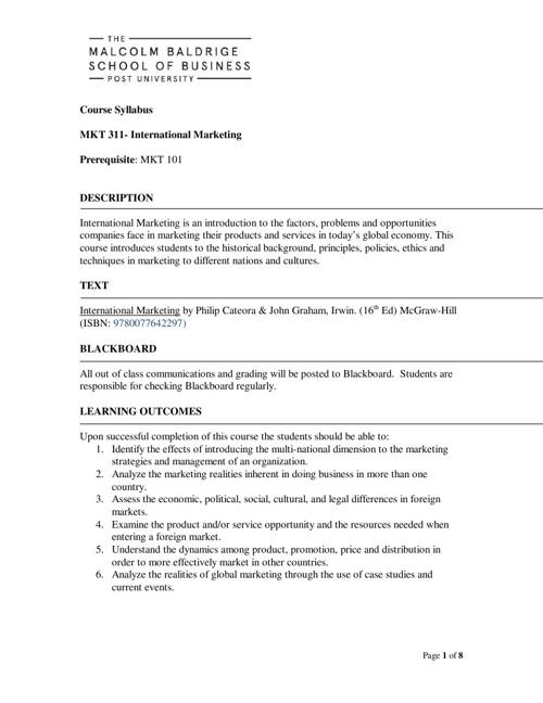 MKT311 (online)