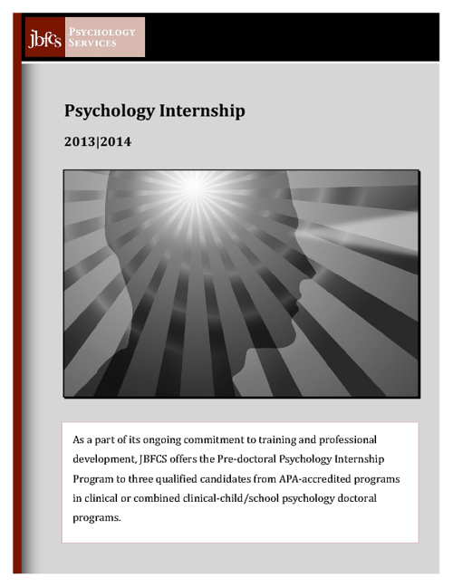 Psychology Internship 2013-14