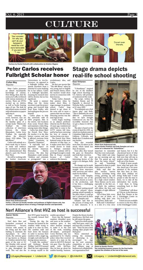 Oct. 6 issue of the Legacy