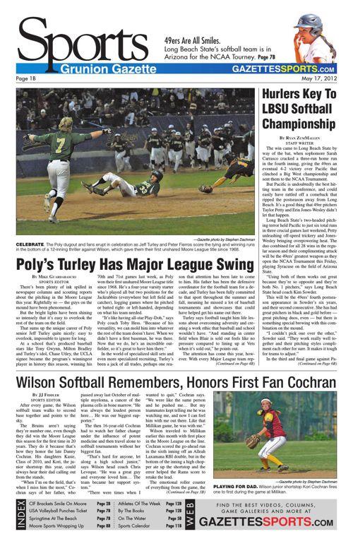 Gazette Sports | May 17, 2012