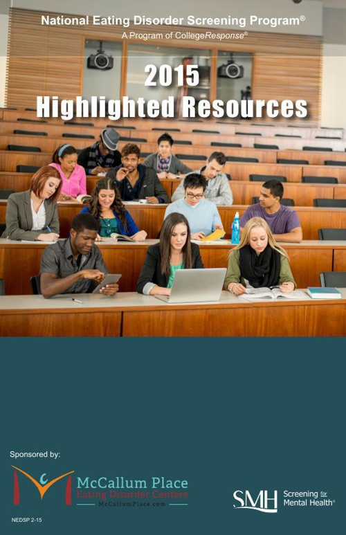 2015 Highlighted Resources