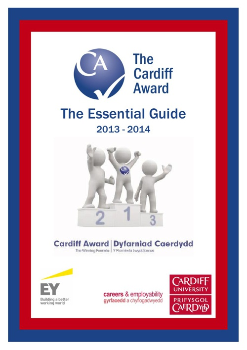 Cardiff Award Essential Guide 2013-2014