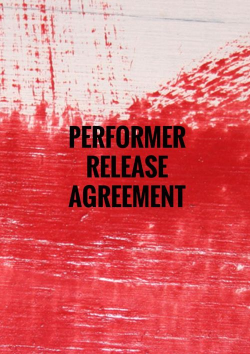 PERFORMER RELEASE AGREEMENT