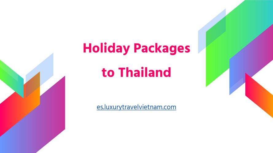Holiday Packages to Thailand