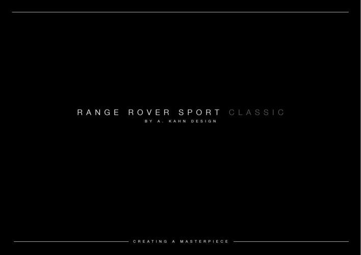 Kahn Design_Classic Range Rover Sport