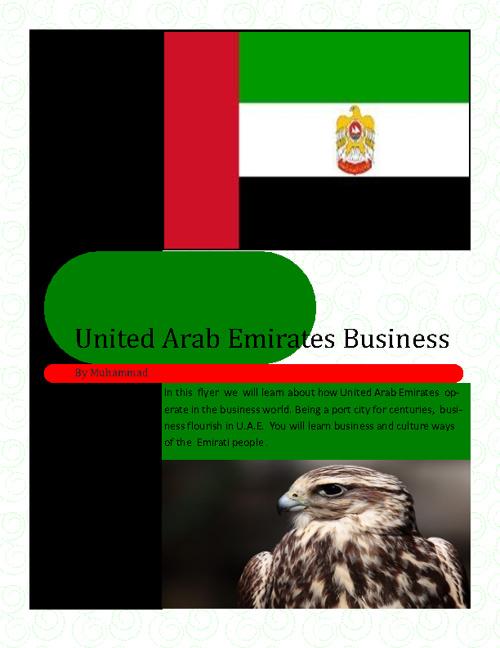 Business in United Arab Emirates