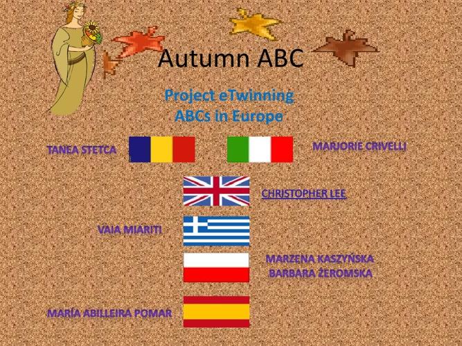 Autumn ABC