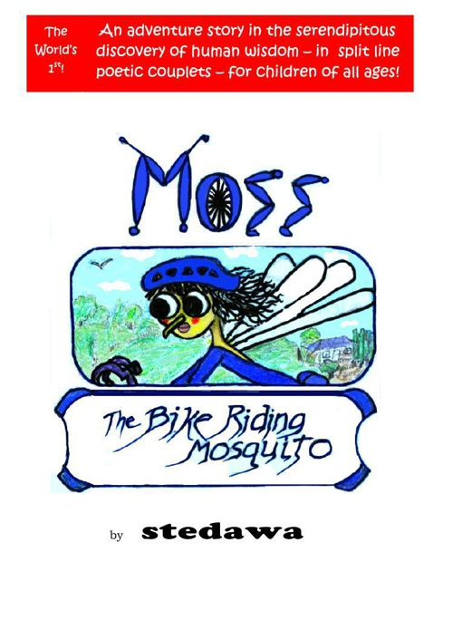 Moss, the Bike-Riding Mosquito