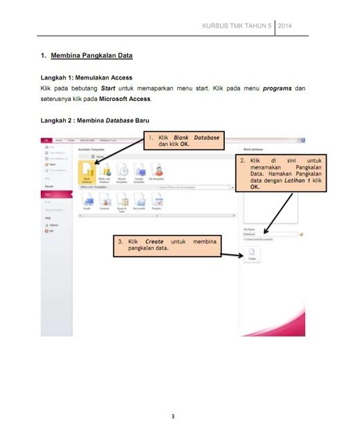 Topik 2  Pembangunan Pangkalan Data
