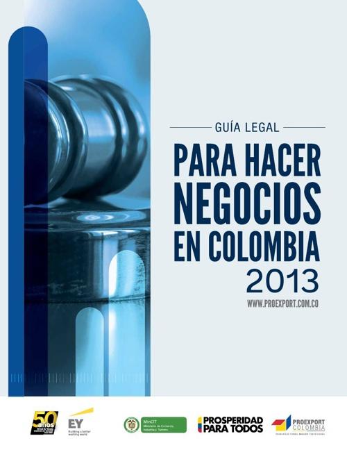 Guia legal negocios proexport 2013