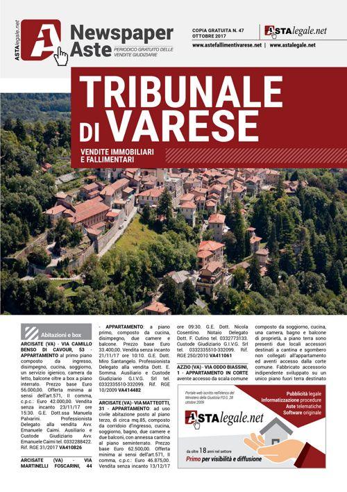 Varese ottobre 2017