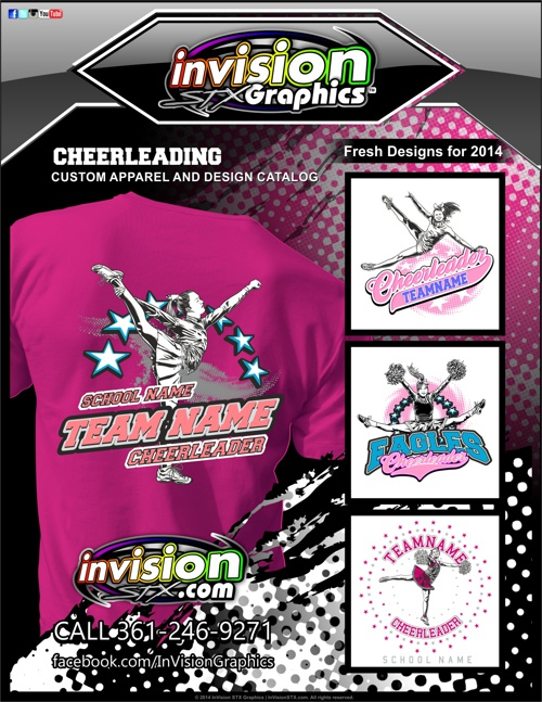 Cheerleading - Custom Apparel & Design Catalog