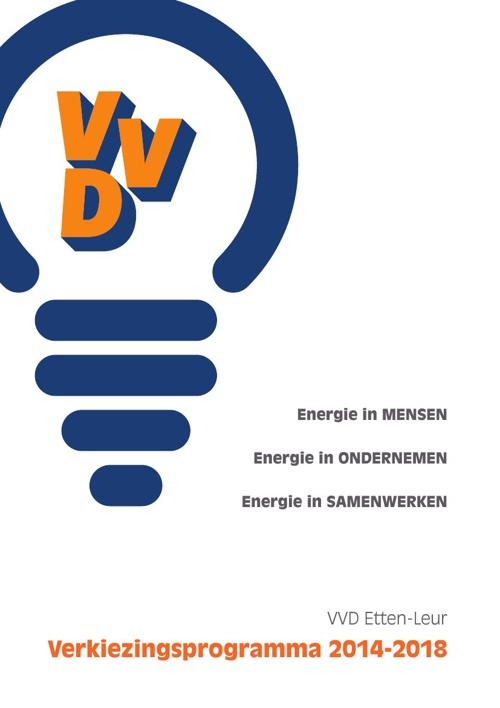 Verkiezingsprogramma VVD Etten-Leur 2014-2018