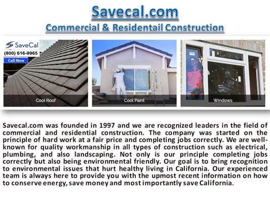 Savecal.com - Choose Us To Build Your Dream Home