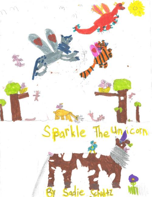 Sparkle the Unicorn by Sadie Schultz