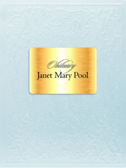 Obituary for Janet Mary Pool