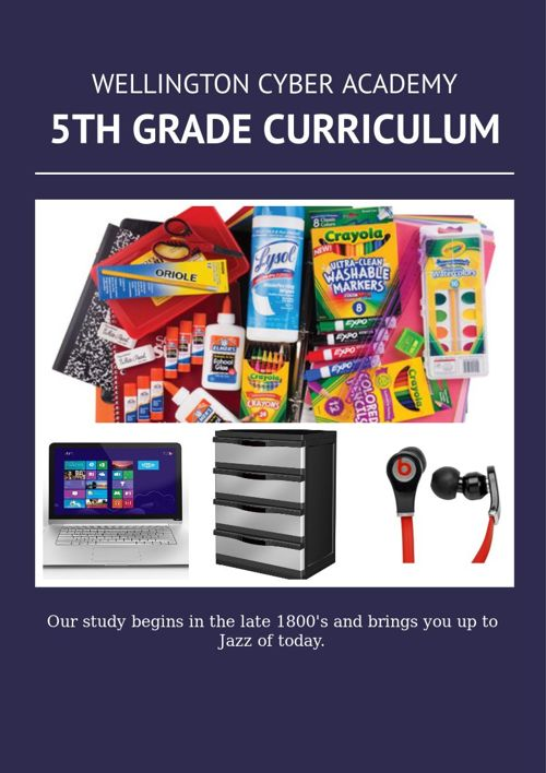 Wellington Fifth Grade Curriculum