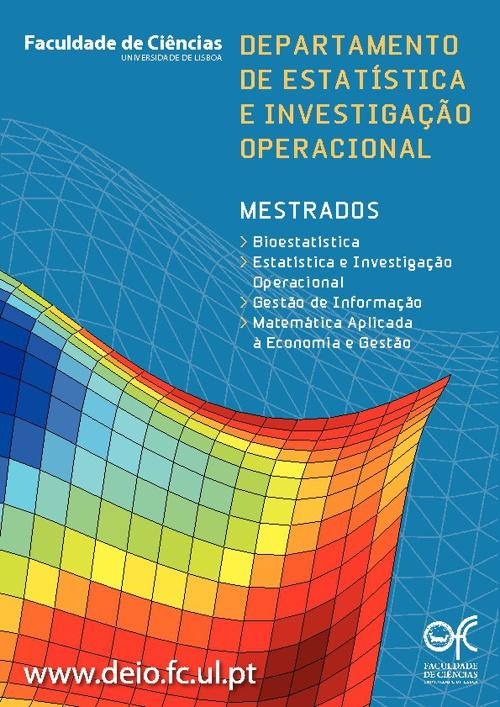 Catálogo dos Mestrados do DEIO
