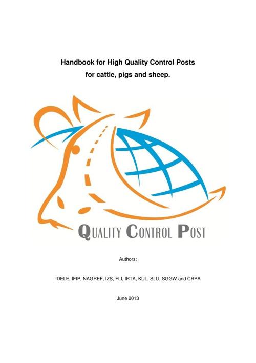 Quality Control Post Handbook (English)