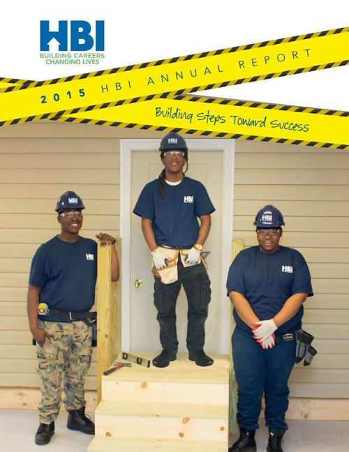 2015 HBI Annual Report  Bldg Steps Toward Success  FINAL