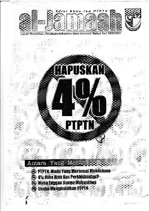 Majalah Al-Jamaah 2001 (Khas isu PTPTN)