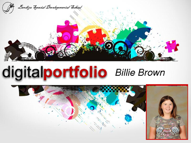 Billie's 2012 Portfolio