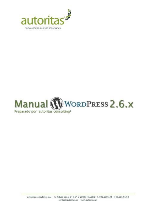 Manual de Wodpress
