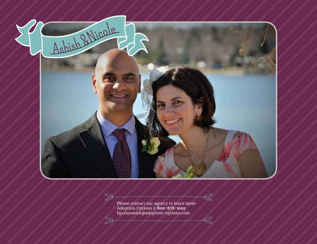 Nicole and Ashish Adoptive Family Profile