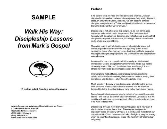 Walk His Way