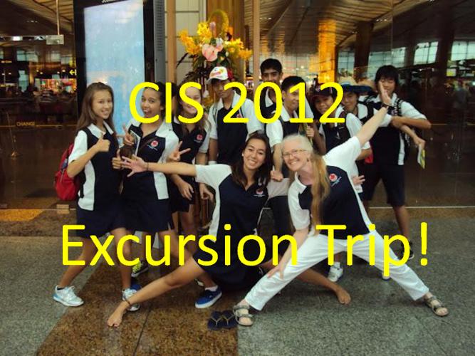 CIS 2012  Excusion Trip!