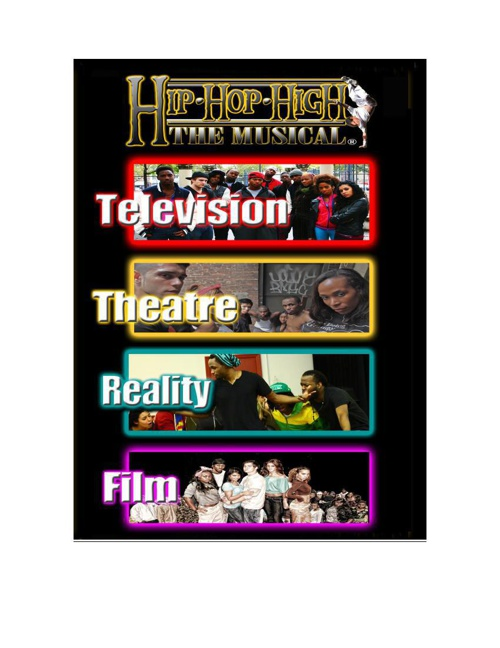 Hip Hop High Full Business Plan with all media