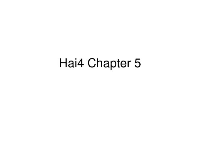 Hai4 Chapter 6
