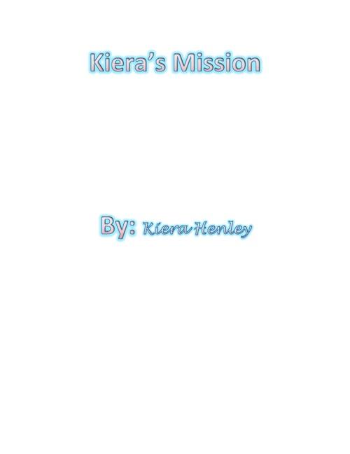 Kiera chart course