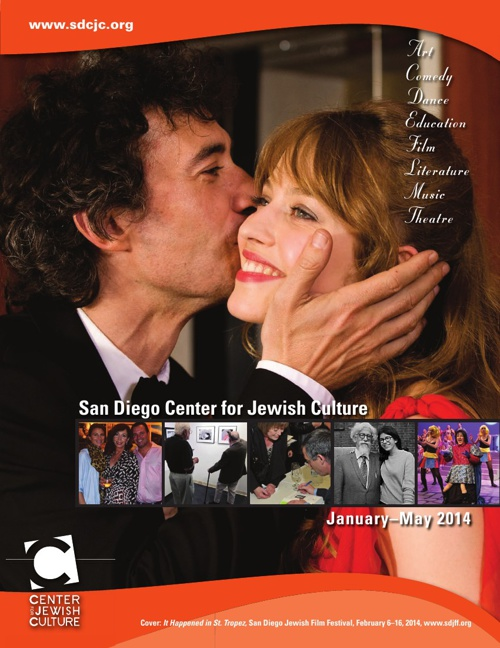 San Diego Center for Jewish Culture Programs - January 1 - May 9
