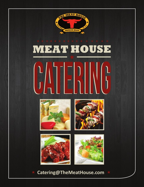 The Meat House Catering Menu