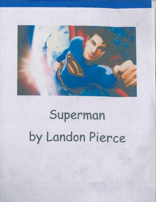 Superman by Landon