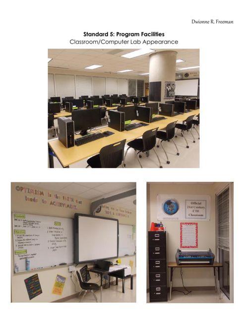 Standard V--Classroom Appearance (Freeman)