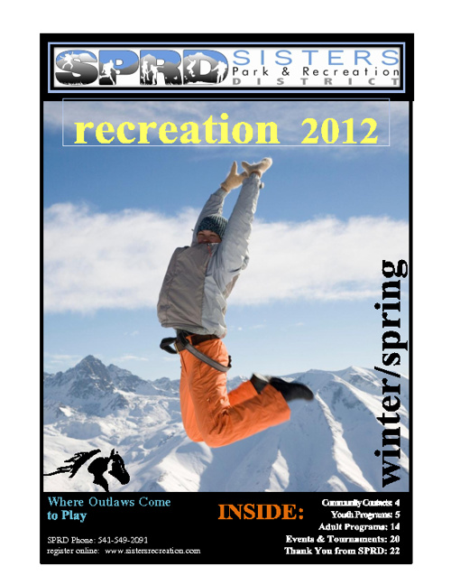 SPRD Winter Catalog 2012