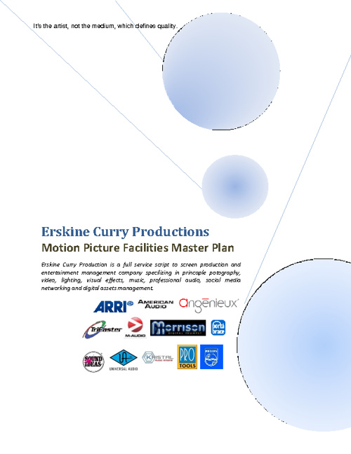 ERSKINE CURRY PRODUCTIONS