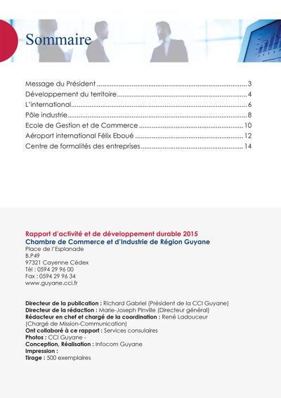 Copy of Rapport d'activité 2015 du Grand Port Maritime de Guyane