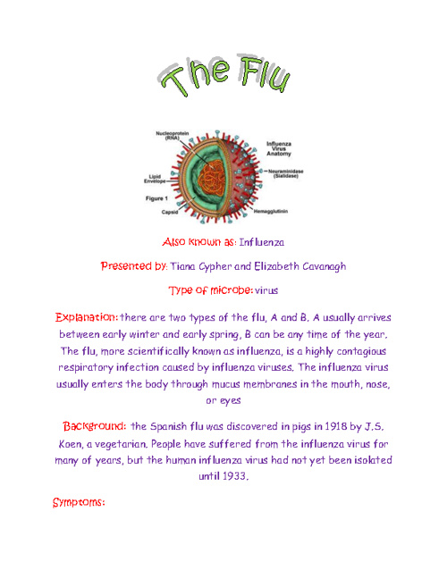 the flu and hiv/aids