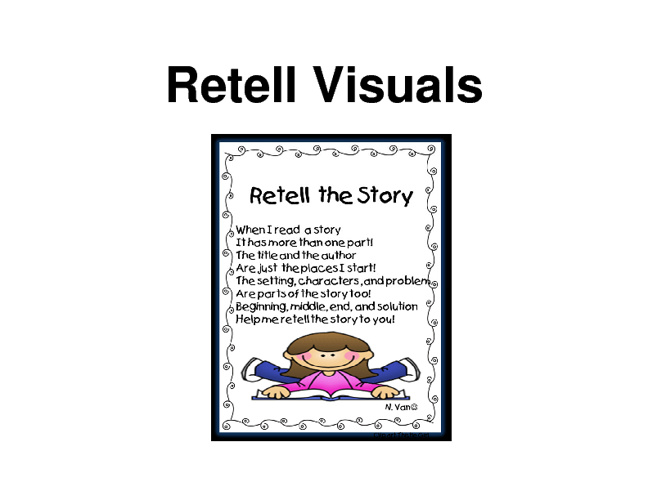 Retell Large Visuals for Classroom