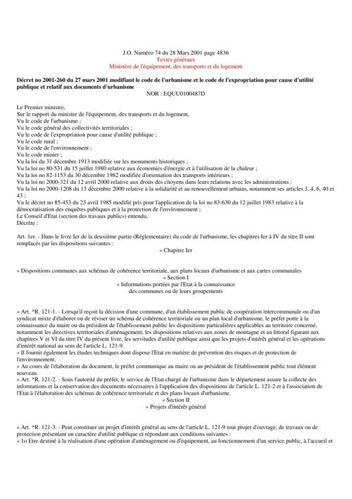 decrets SRU