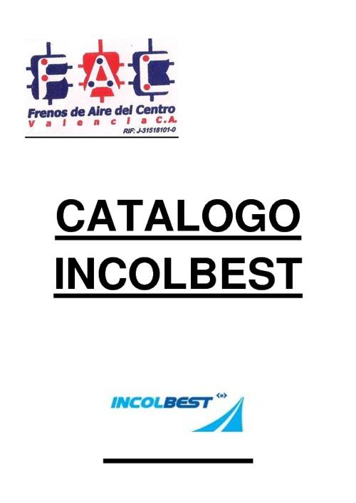 CATALOGO INCOLBEST