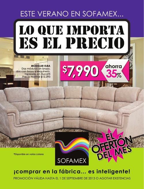 Catálogo Sofamex Agosto