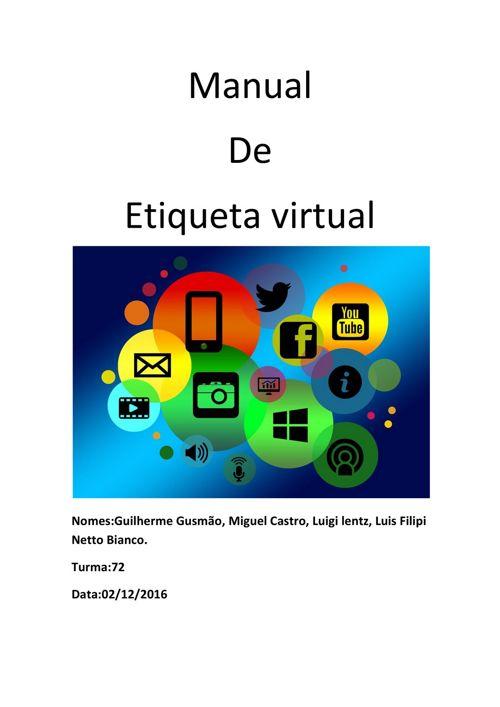 Manual de etiqueta virtual