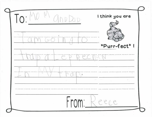 Parent Letter 4