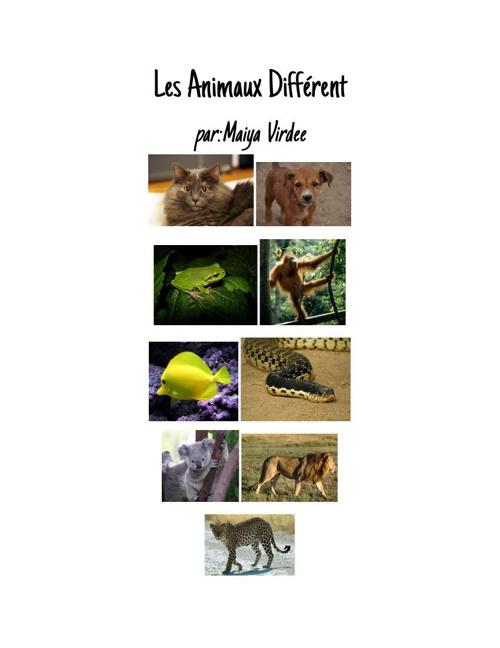 DifferentTypesofAnimals-FRENCHBOOK (1)