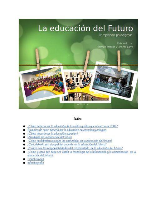 La educación del futuro: rompiendo paradigmas